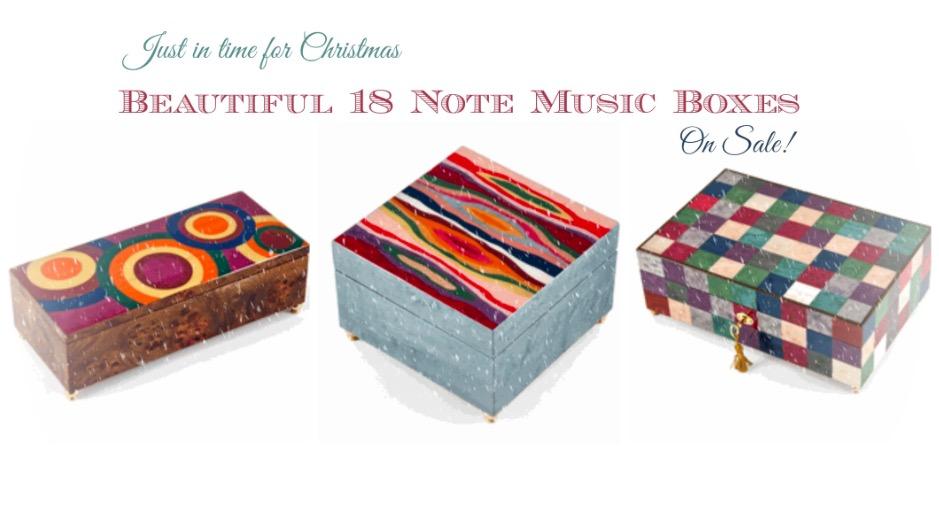 Music Box Christmas Sale